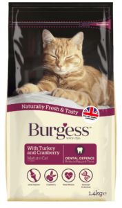 Mature Cat With Turkey & Cranberry