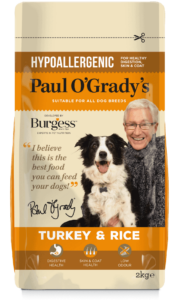 Paul O'Grady's Hypoallergenic Turkey and Rice