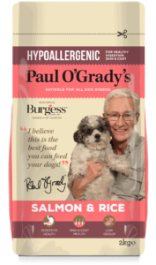 Paul O'Grady's Hypoallergenic Salmon and Rice