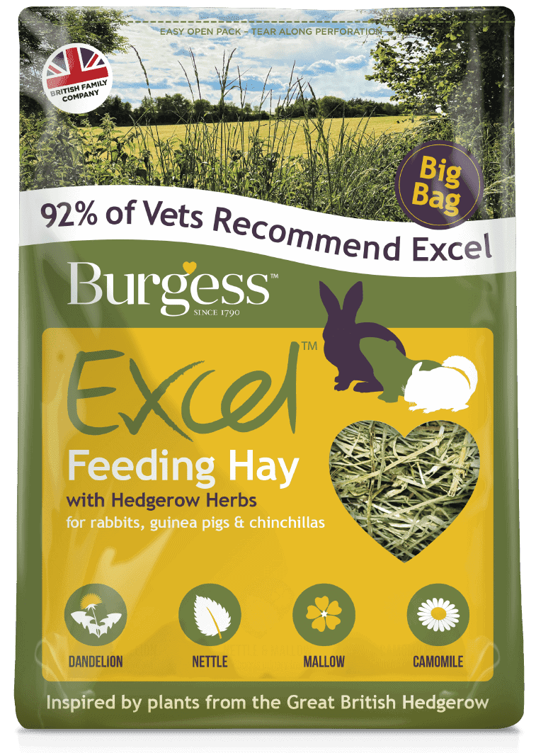 Excel Feeding Hay with Hedgerow Herbs